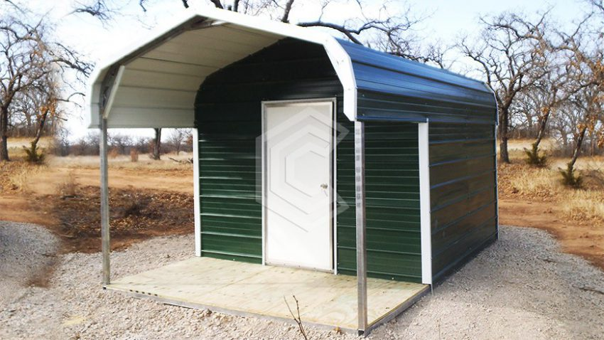 10x10x6 regular roof utility storage shed