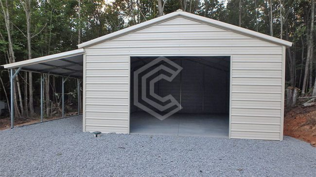 22x21x9-metal-garage-with-lean-to