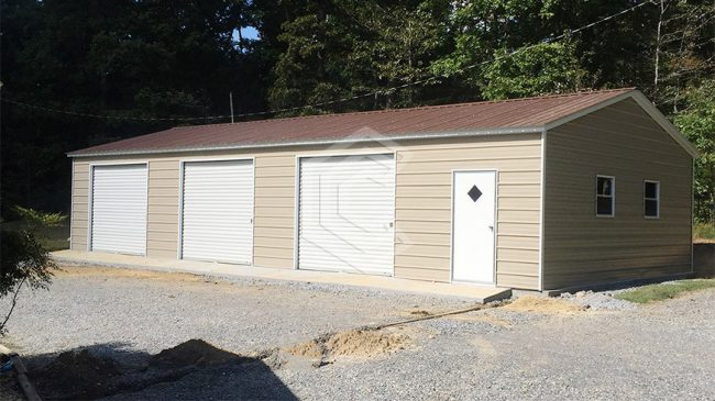 24x40x9-three-car-side-entry-garage