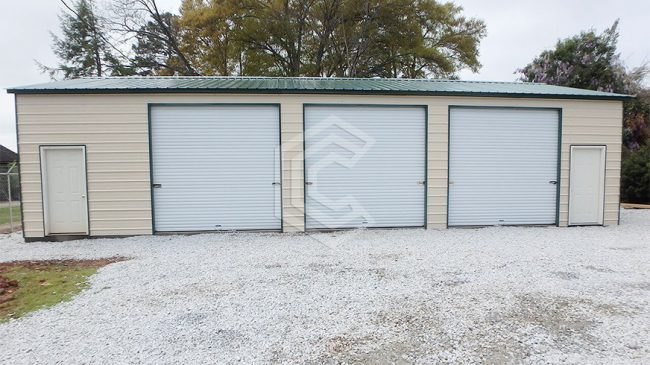 24x45x11-double-wide-metal-garage