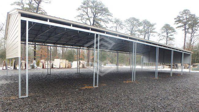 30x60x14-side-entry-double-leg-metal-carport