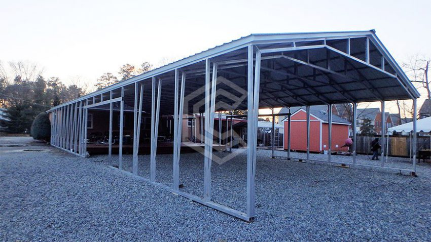 32x65x12 commercial metal carport