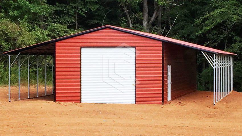 48x40x11 seneca metal barn