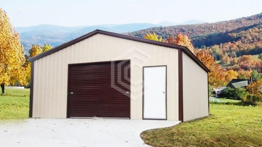 18x21x9 steel garage