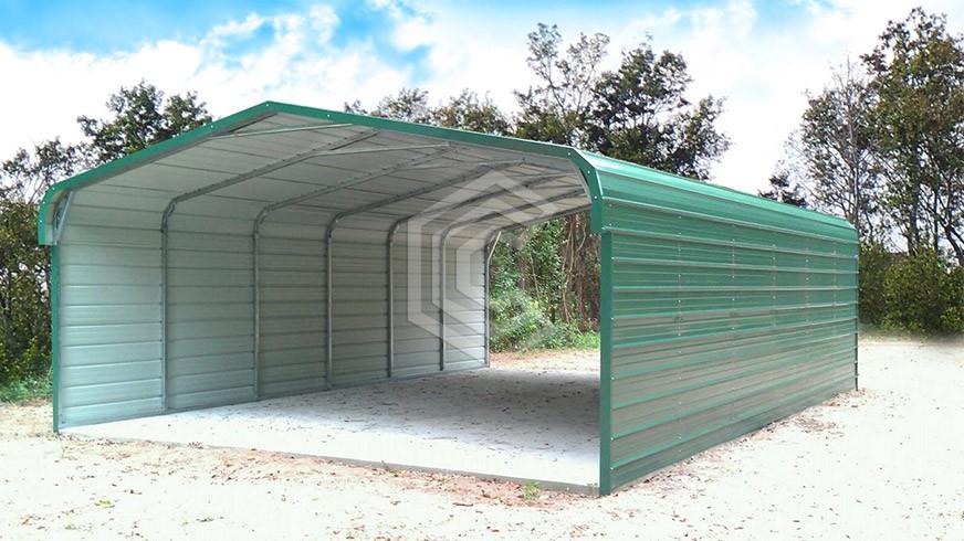 20x31x9-regular-roof-metal-carport | Carports | Steel Carport Dealer ...
