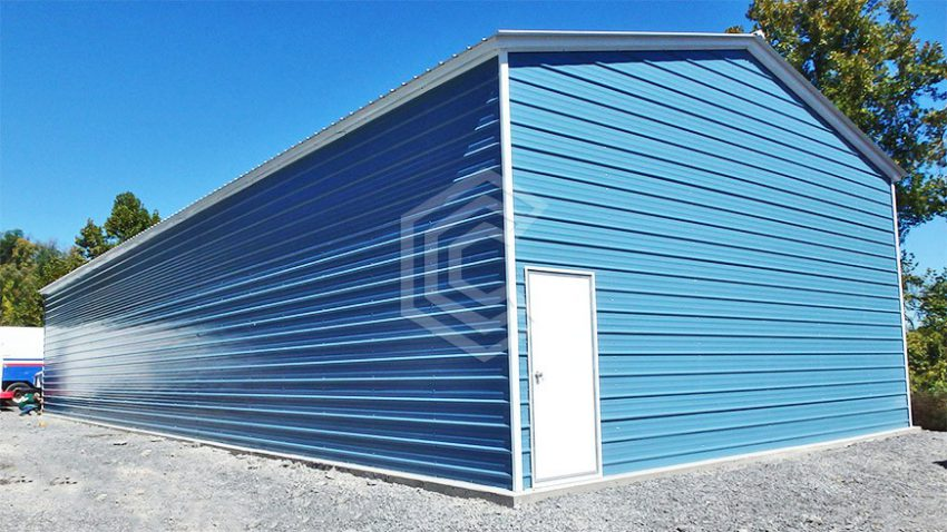 30x81x14 metal workshop building