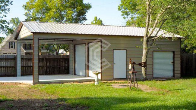 18x36x10 Vertical Roof Custom Utility Building