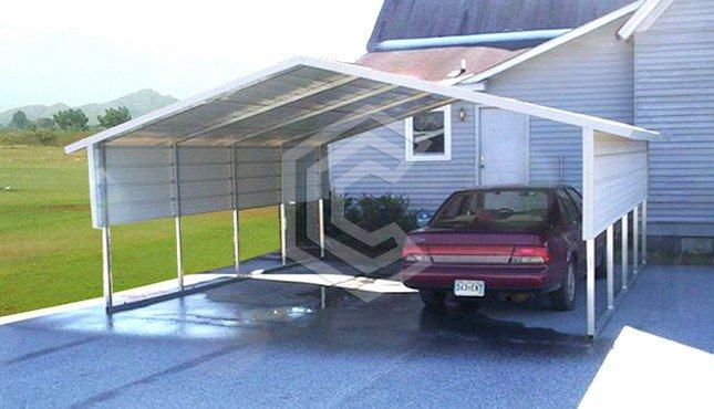 18x21x6 A Frame Metal Carport