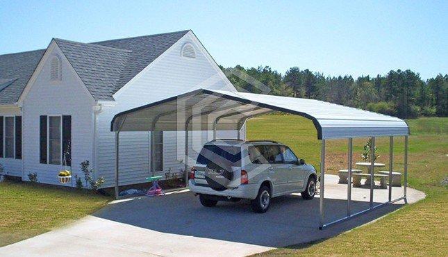 18x21x6 Standard Metal Carport