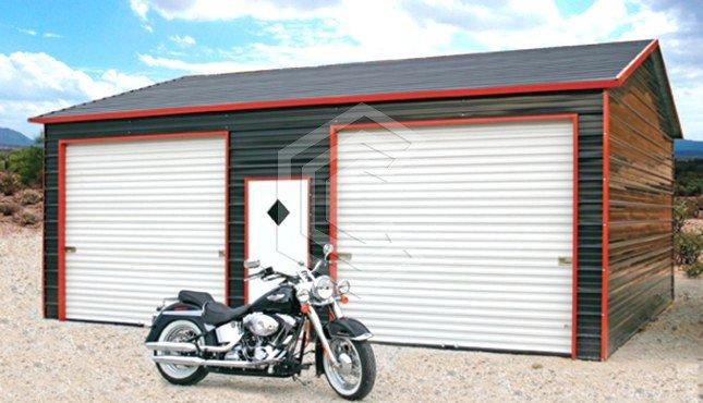 20x26x9 Side Entry Garage