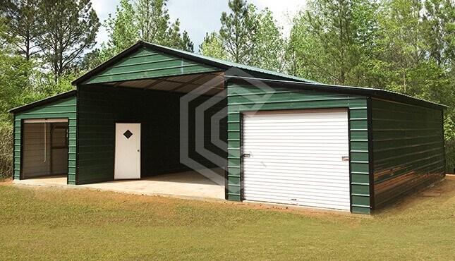 20x30x11 Raised Center Aisle Barn