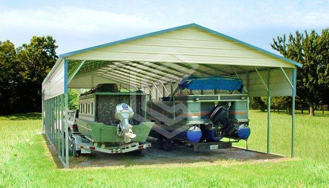 20x46x11 Boat Carport
