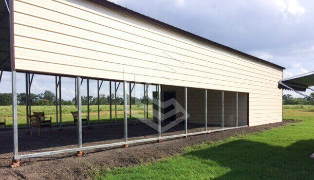 20x60x12 Utility Steel Structure