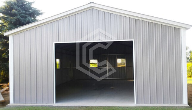 24x40x9 Metal Garage Workshop