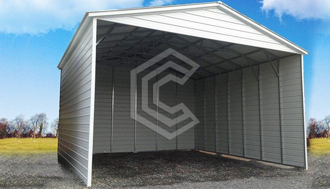 24x31x12 Certified Metal Carport