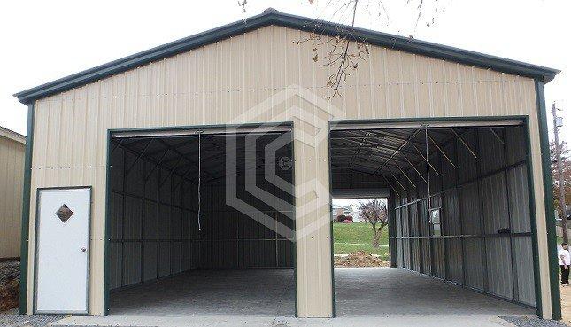 30x36x12 Metal Garage Workshop