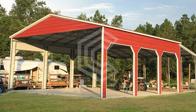 32x38x14 Commercial Metal Building