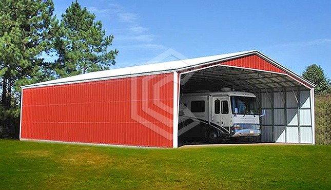 40x61x12 Commercial Metal Building