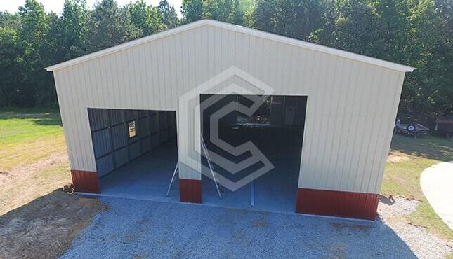 40x70x16 Metal RV Garage