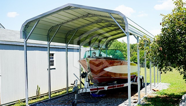 12x31 Regular Boat Carport