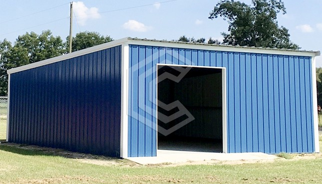 24 x 23 Metal Garage