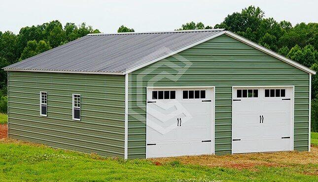 26x36 Metal Garage