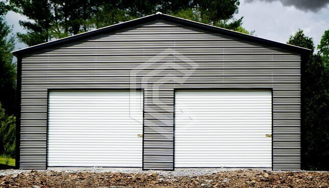 30 x 31 Metal Garage