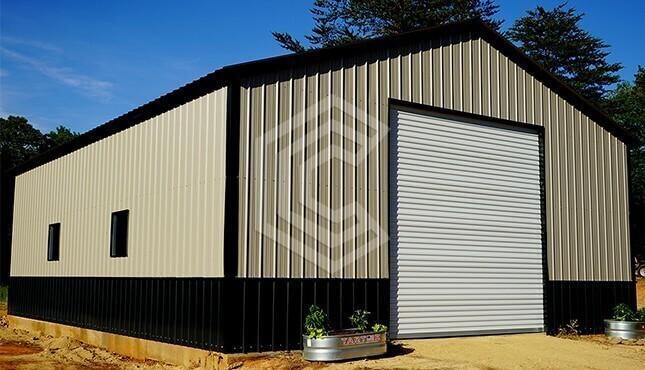 30x41 Steel Garage - A