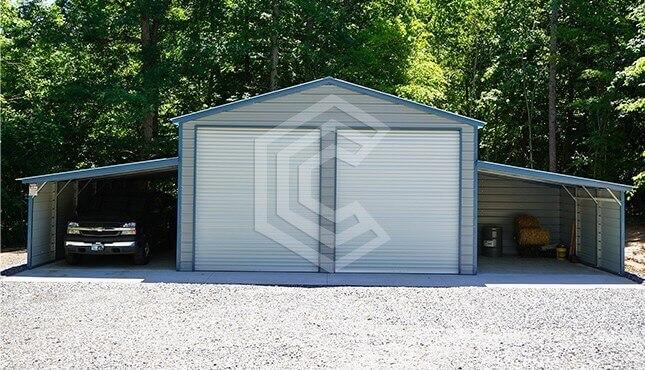 48x36 Steel Barn