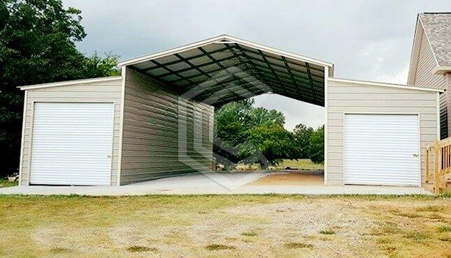 48 x 45 Steel Barn