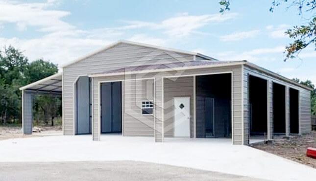 54x40 Lean-to Garage