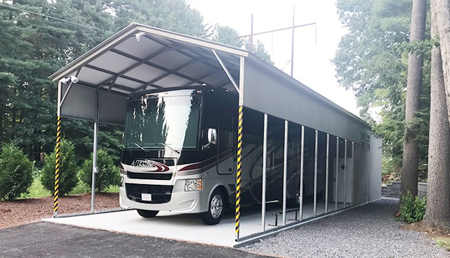 18 x 56 Utility RV Carport
