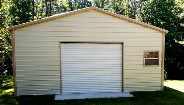 24x26 Steel Garage