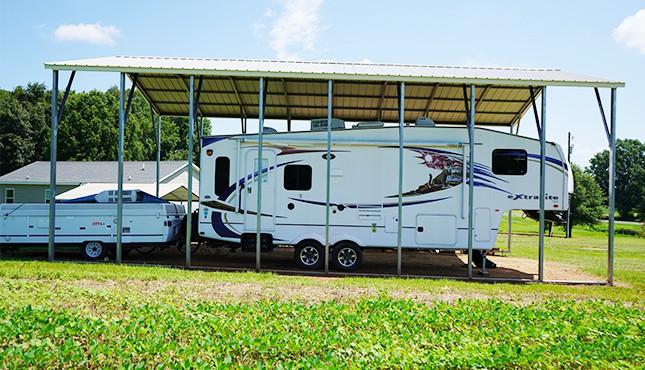 24 x 41 Steel Carport