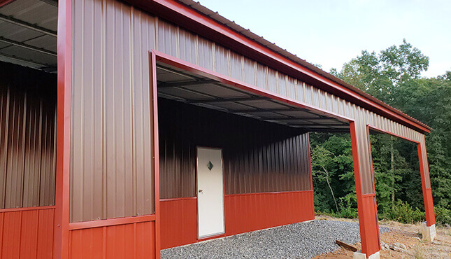 54x36 Drop-Down Barn